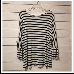 Calvin Klein Striped Shirt - Size M